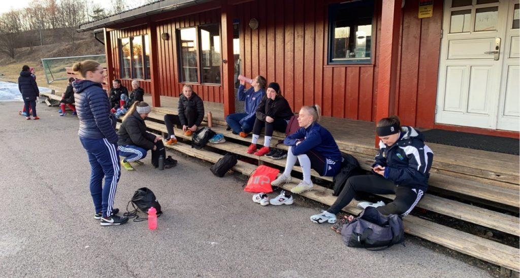 Bilde av Hasle-Lørens damelag i fotball